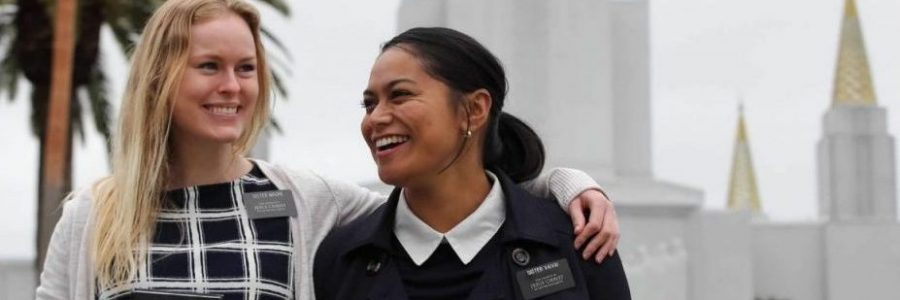 Oakland Temple Sister Missionaries
